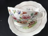 SOLD HILDITCH  cup & saucer 'The Rock' pattern